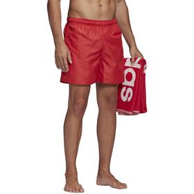 adidas Solid CLX SH SL Shorts Hombre, rojo